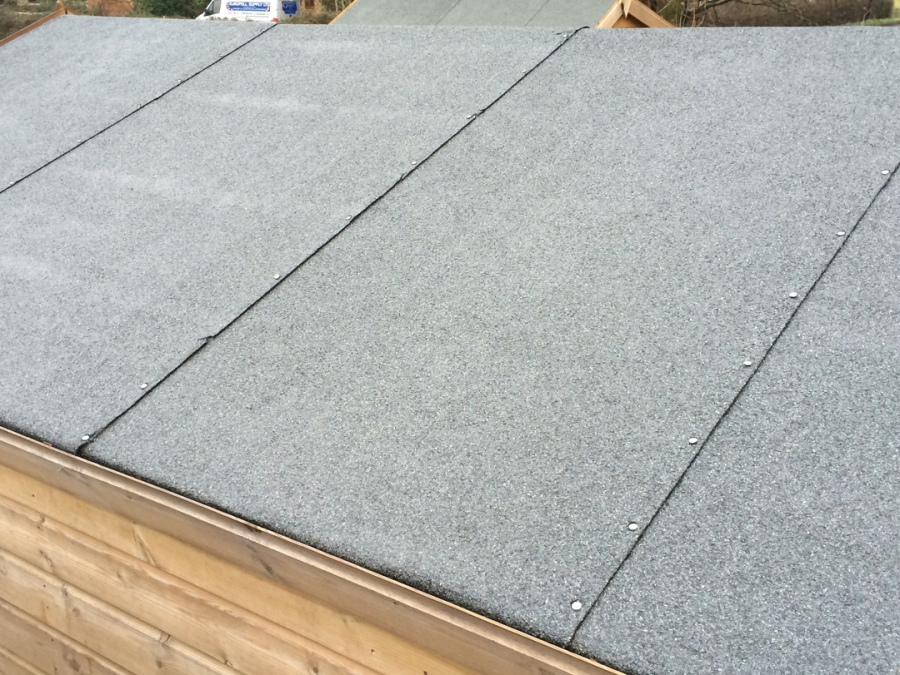 Shingles or EPDM Rubber