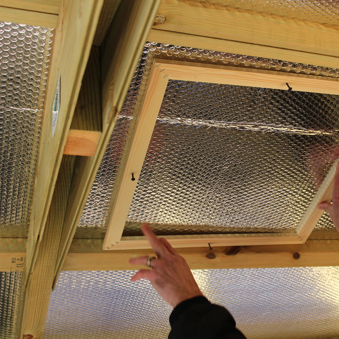 Activent Windows And Skylights For Sheds Installation